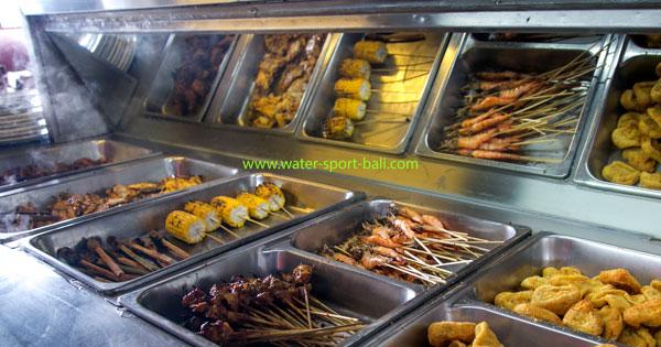 Food Menu Bali Submarine Tour Review