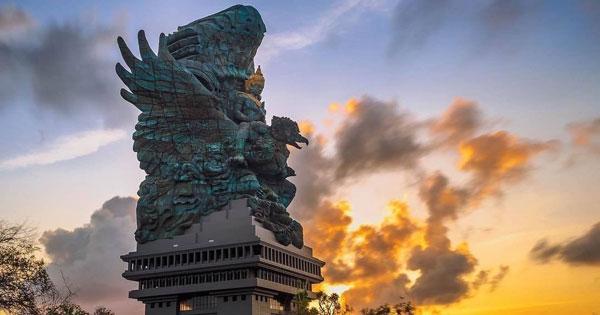 Garuda Wisnu Kencana Statue Ungasan Bali