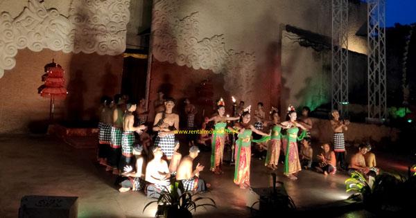 Kecak Dance Performance at GWK Amphitheater