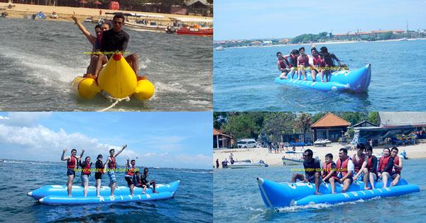 Banana Boat Rides Bali At Tanjung Benoa Beach
