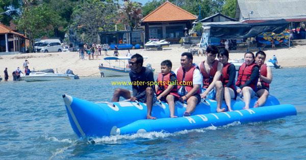 Banana Boat Rides Tanjung Benoa