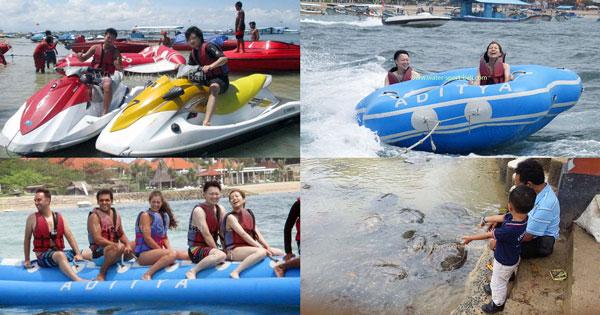 Marine Activities Package Nusa Dua Bali