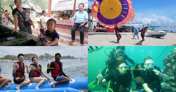 Nusa Dua Water Activities Package