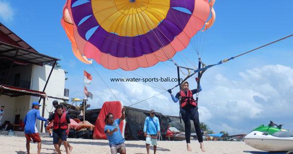 Single Parasailing Tanjung Benoa Bali