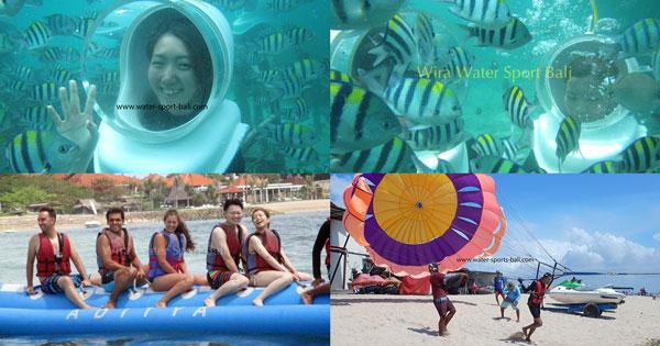 Water Sports Tour Packages Nusa Dua Bali