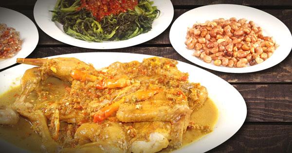 Chicken Betutu Balinese Cuisine