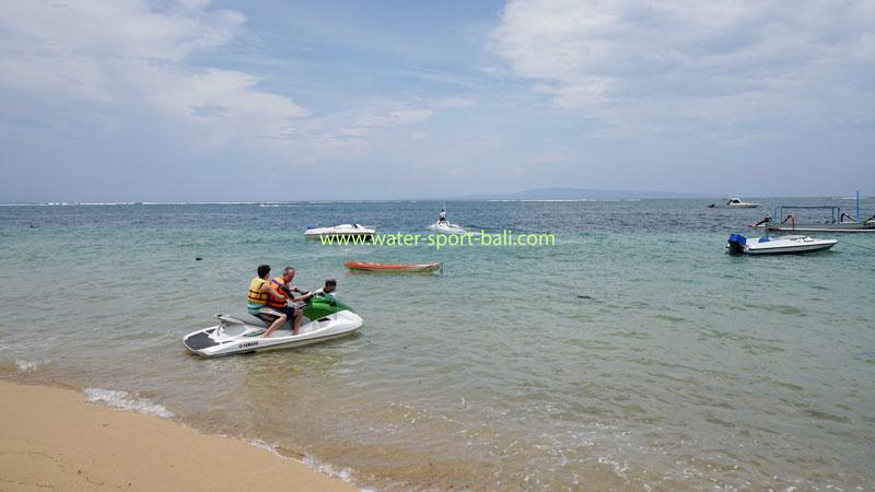 Jet Ski Ride In Sanur Beach Bali