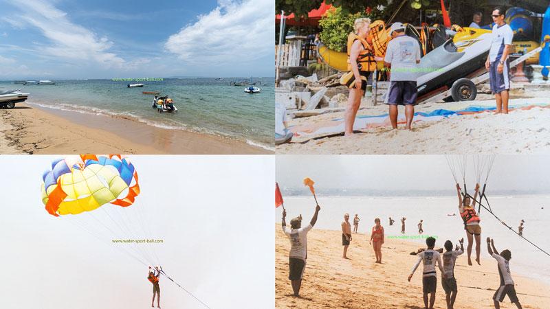 Sanur Beach Parasailing Bali