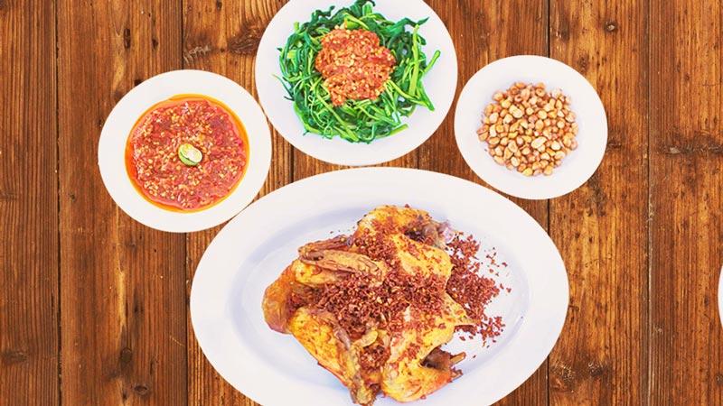 Ayam Betutu Gilimanuk Restaurant Menu