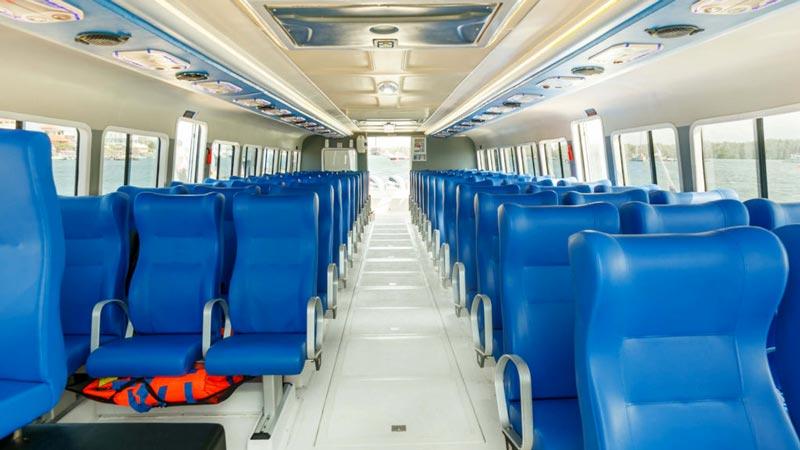 Bluewater Express IX Cabin - Fast Boat Serangan To Nusa Lembongan