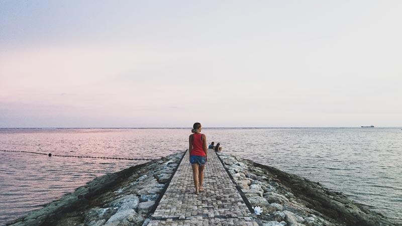 Take a Walk Along the Sanur Promenade