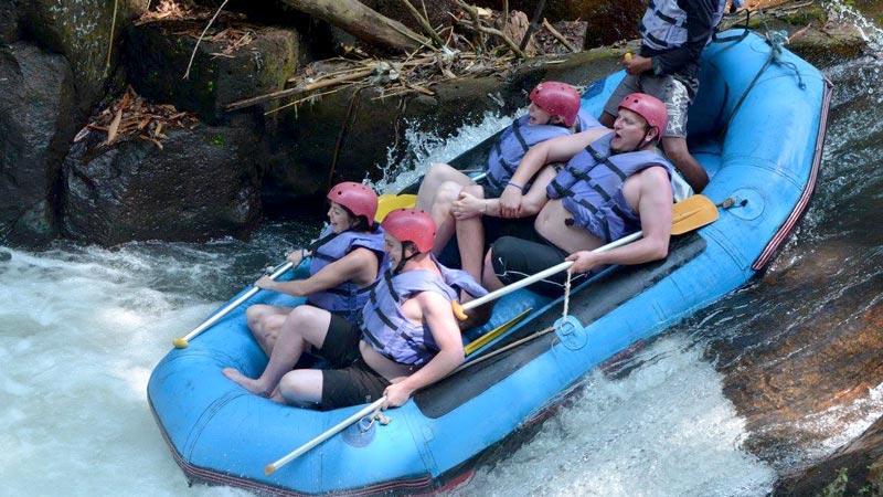 White Water Rafting Klungkung