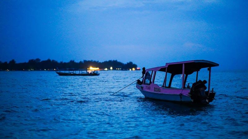 Gili Meno Island Tourism Attraction