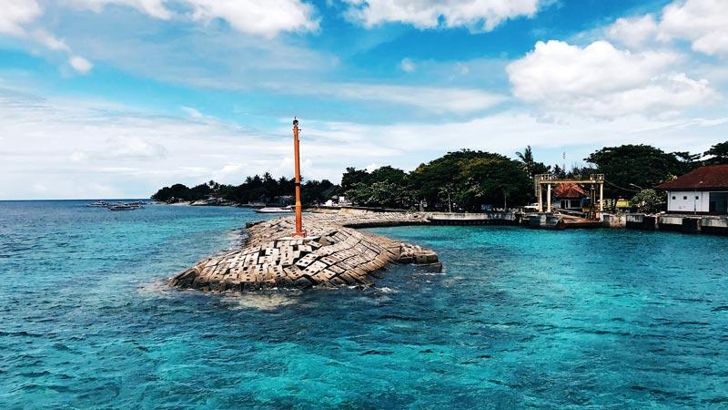 Port of Buyuk Sampalan Nusa Penida