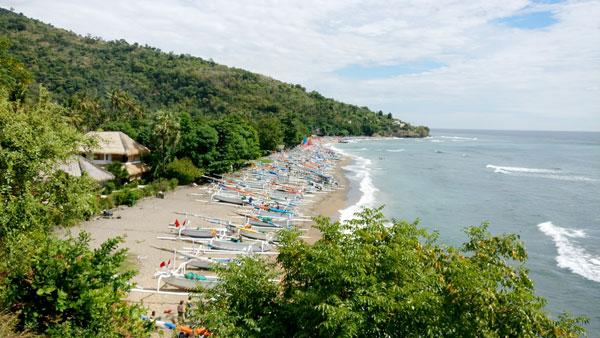 Amed Beach Karangasem - Bali Quiet Beaches