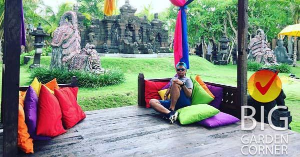 Colorful Hangout Spot