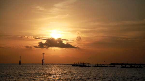 Kedonganan Beach Sunset Bali