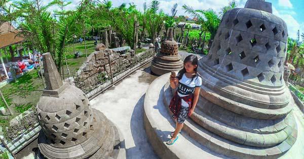 Miniature of Borobudur Temple