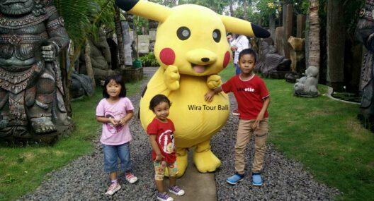 Pikachu Day Out On Sunday Big Garden Corner Sanur