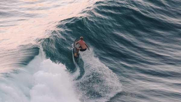 Medewi Beach Surfing